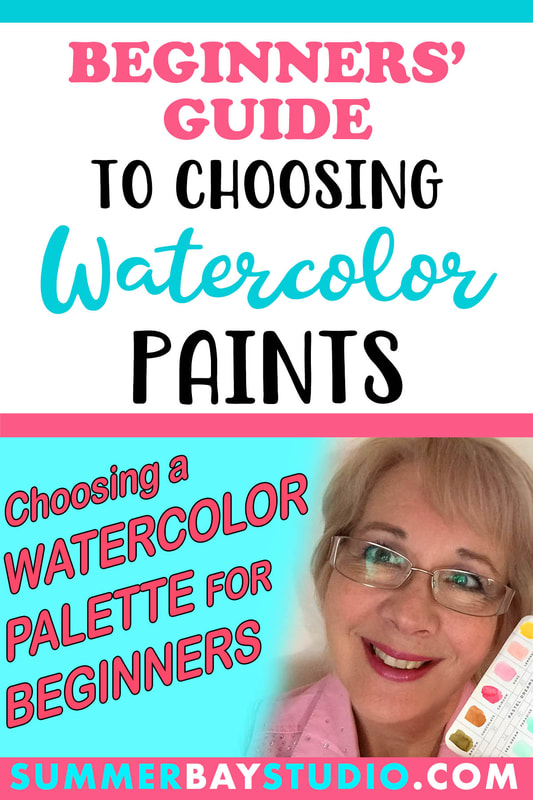 Beginners' Guide to choosing your watercolor paints video..